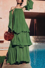 Off Shoulder Elegant Maxi Dress