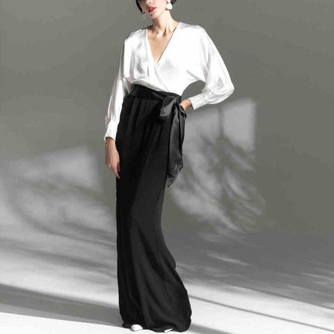 Fashion Simple Fashion Ol Jumpsuit