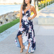 Sexy Elegant Sleeveless Vacation Maxi Dress