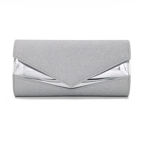 Fashion Solid Color Simple Clutch