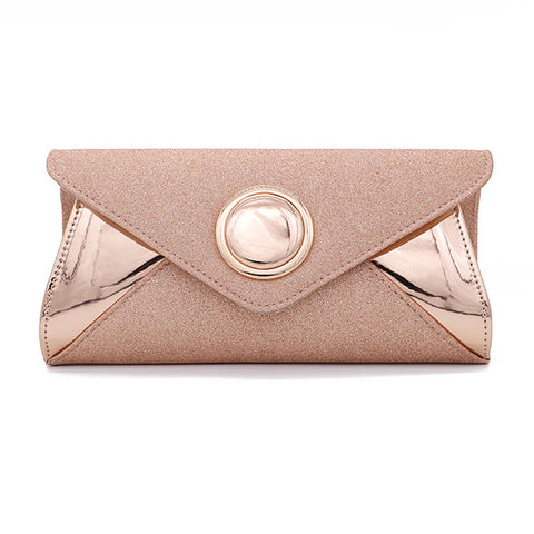 Button-type Fashion Evening Bag