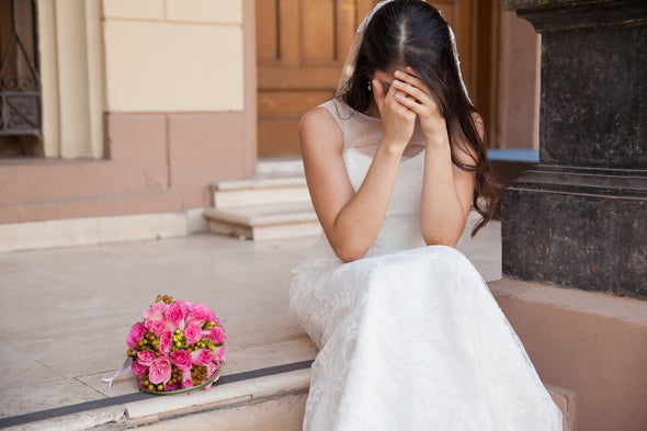 How to call off your wedding! Yup, it happens!