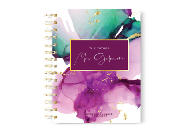 Watercolor Wedding Planner