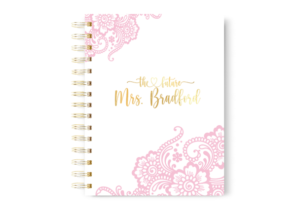 Blush and Gold Wedding Planner