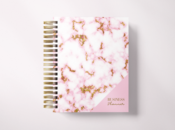 Small Business Planner-Pink