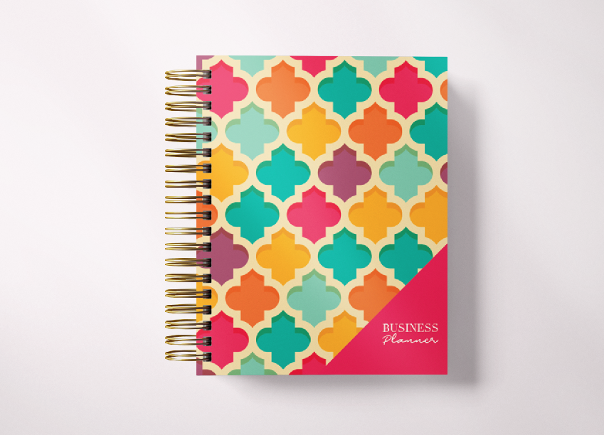 Small Business Planner-Hot Pink