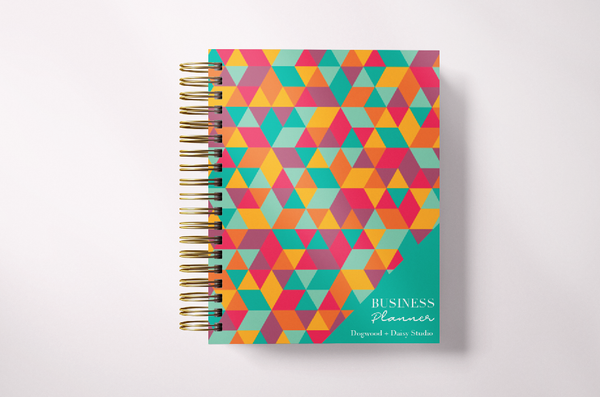 Small Business Planner-Turquoise