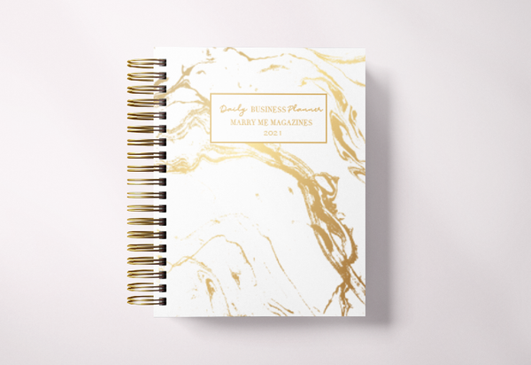Small Business Planner-Gold