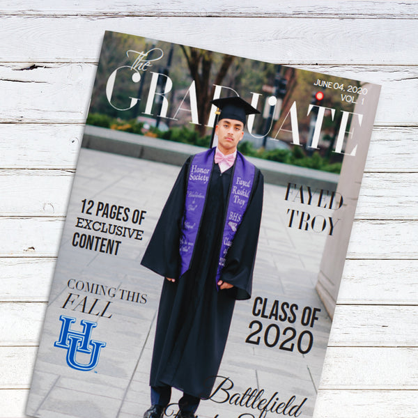 Graduation Announcement Magazine