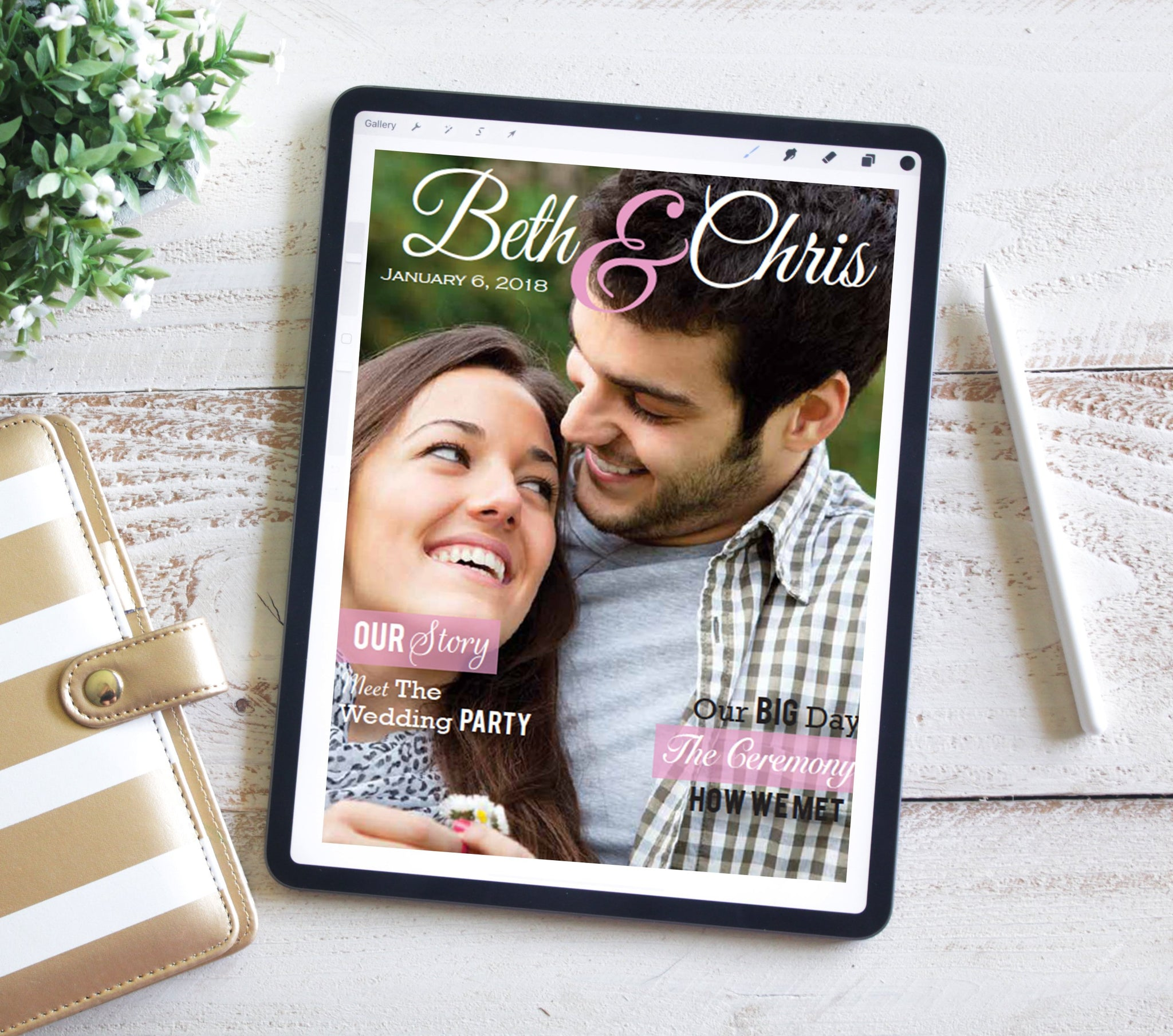 Wedding Magazine Programs ( DIGITAL)