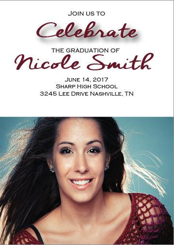 Graduation Invitations/ Photo invitations/ Graduation Announcements
