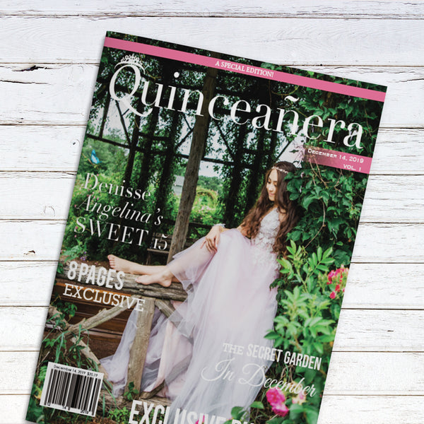 Quinceañera Birthday Party Magazine