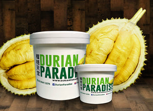 Durian Paradise: Mao Shan Wang Fresh Ice Cream Delivery in Singapore 12oz 4oz