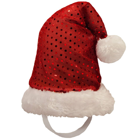 Holiday LED Santa Hat