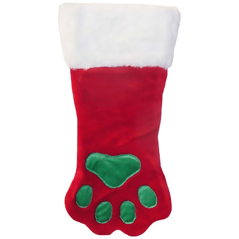 Holiday Paw Stocking - Large