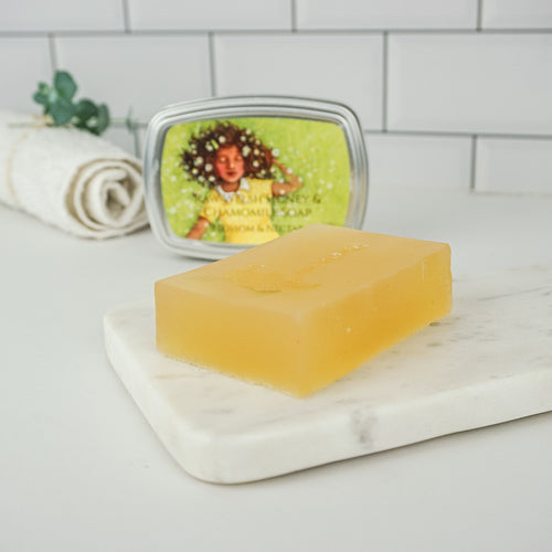 Calming Chamomile and Sweet Orange Soap