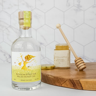Blossom & Nectar Welsh Honey Gin ( London Dry)