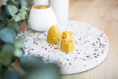 Skep Candle 100% Beeswax