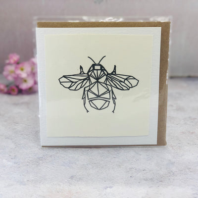 Small Wire bee card