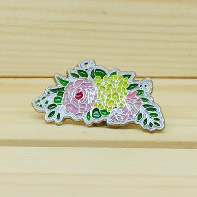 Blossom Bee Pin