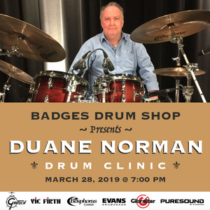 DUANE NORMAN Drum Clinic