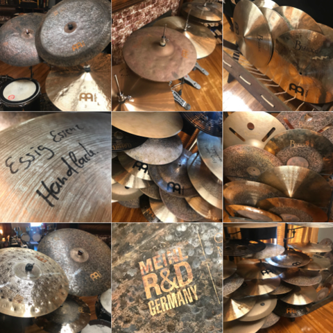 Meinl Cymbal Tour 2019 at Badges Drum Shop