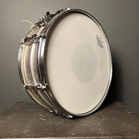 Used Slingerland Chrome Over Brass Snare Drum 5.5x14
