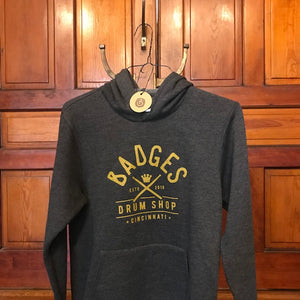 Badges Drum Shop Hoodie