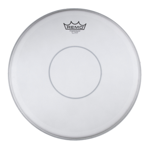 Remo Powerstroke 77 Coated Clear Dot Drum Head, 14""