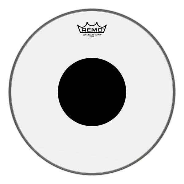 Remo Controlled Sound Clear Black Dot Drum Head