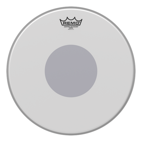 Remo Controlled Sound Coated Black Dot Drum Head