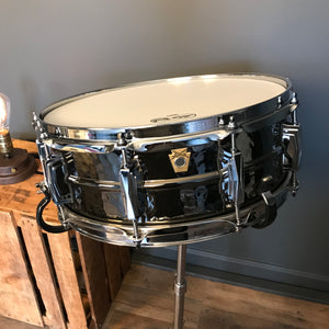 Ludwig Hammered Black Beauty 5x14