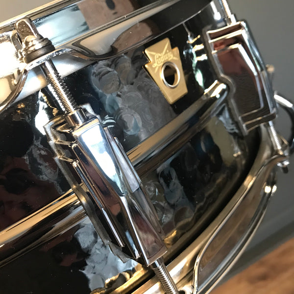 NEW Ludwig Hammered Black Beauty 5x14