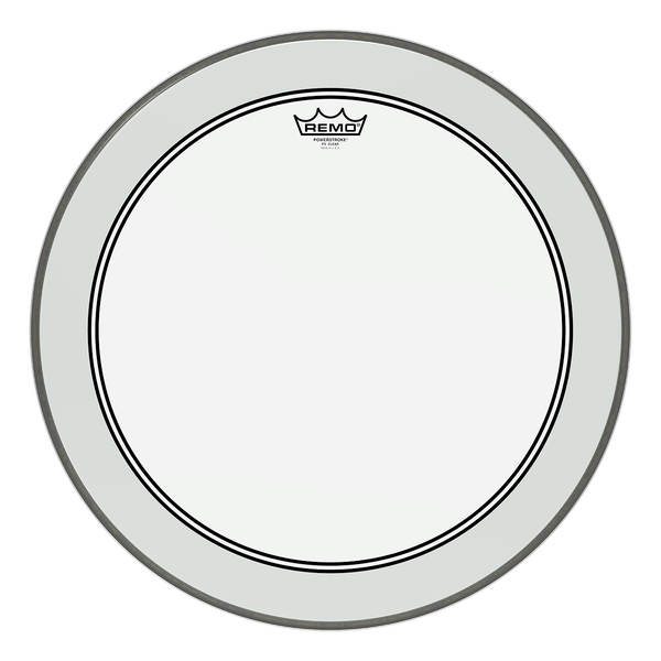 Remo Powerstroke 3 Clear Bass Drum Head