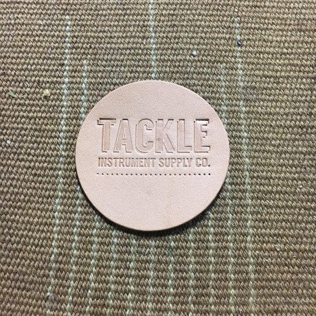 TACKLE Leather Bass Drum Beater Patch - Small