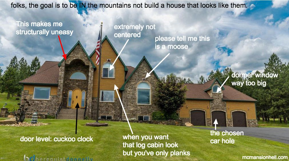 Don't Get Burned in Mountain McMansion Hell!