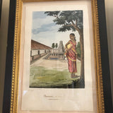 Set of Six Indian watercolors
