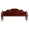 Regency Period Hall Bench with Shaped Back