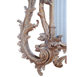 A Large Chippendale Period Pier Mirror