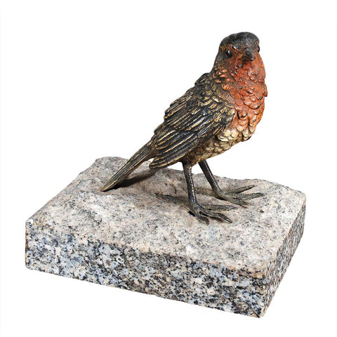 Bronze Sparrow on Granite