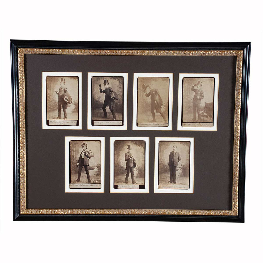 Temperance Movement Cabinet Cards
