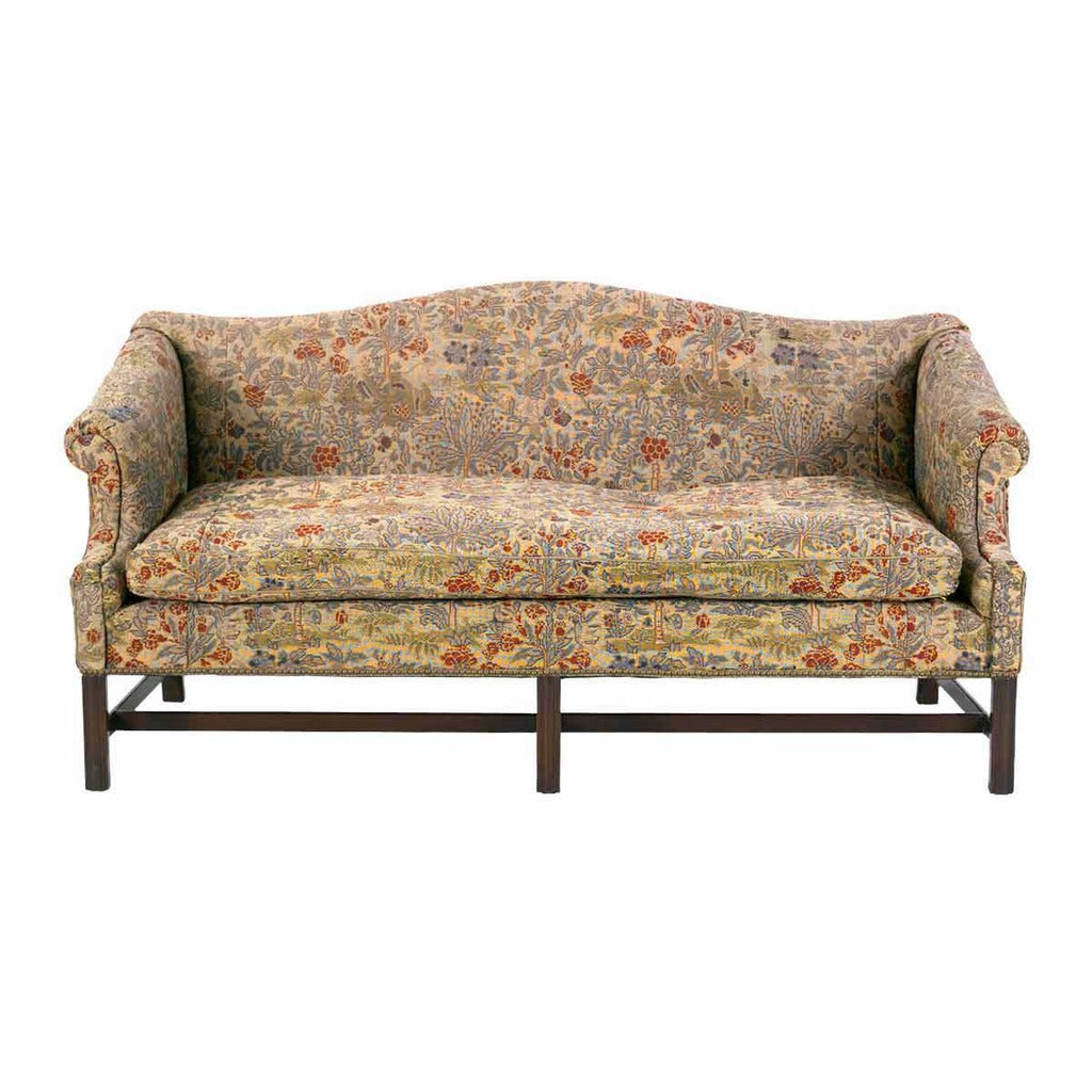... A 19th Century George III Period Sofa Of Camelback Form With Rolled  Arms. View 2