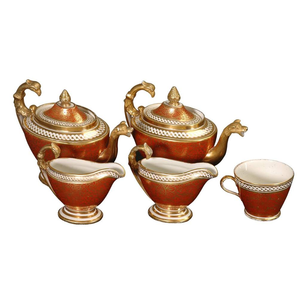 A partial Coalport tea service from 19th Century. View 1