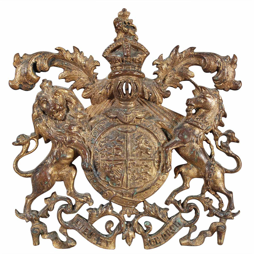Small Bronze Coat of Arms