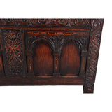 A Charles II Period Coffer with Twin Arch Panels
