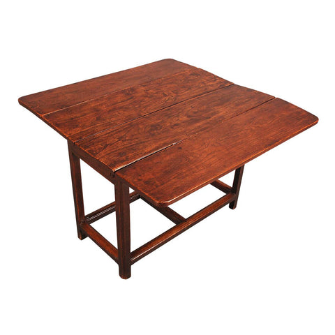 Elm Drop Leaf Table with Gorgeous Color
