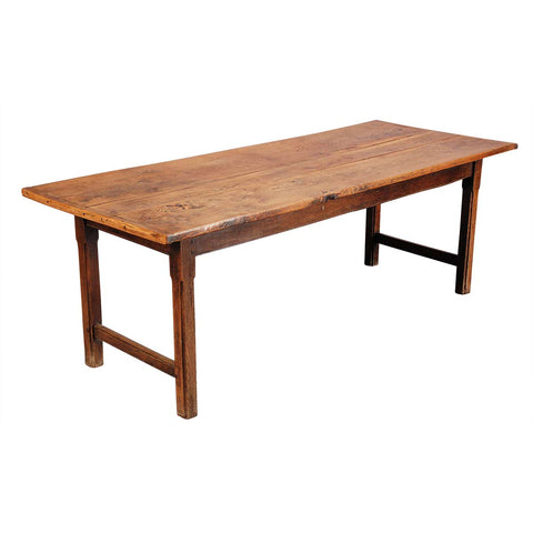 Elm Farm Table on Chamfered Legs