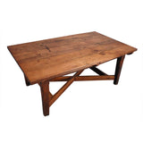 An Arts and Crafts Period Oak Farm Table