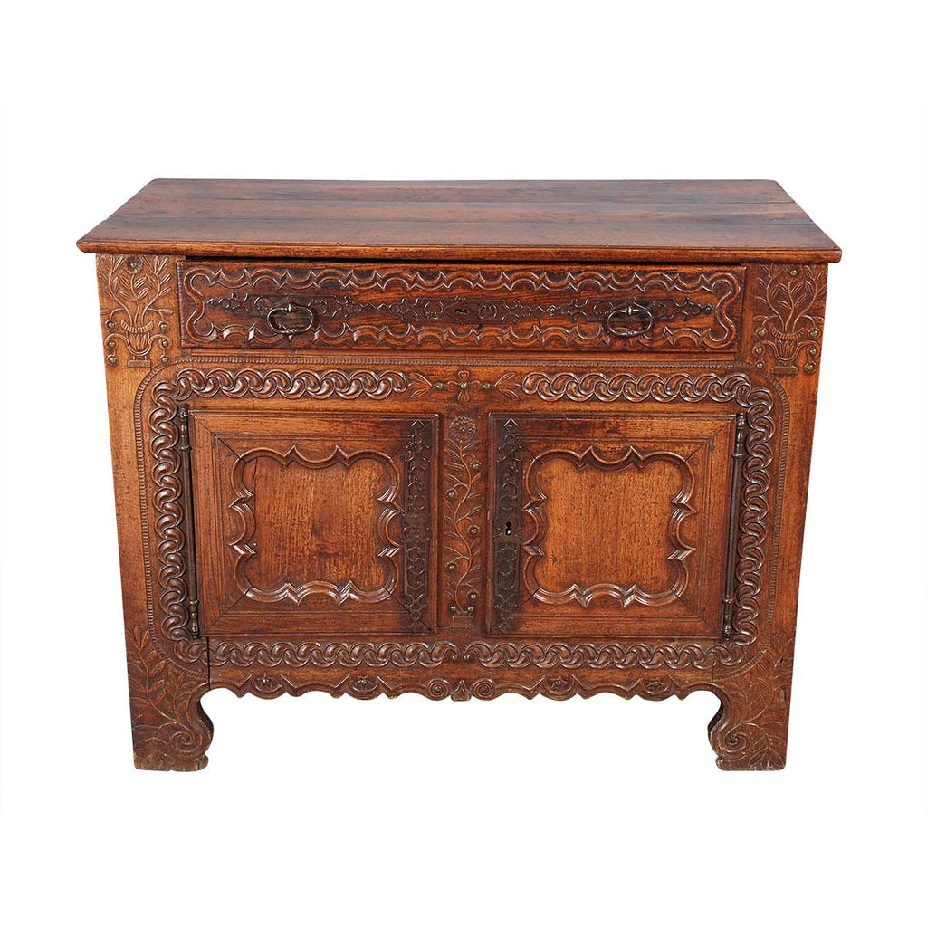 French Cupboard with Floral Carving