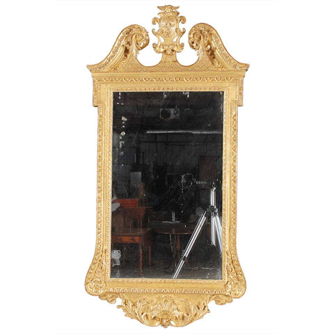 George III Period Giltwood Mirror